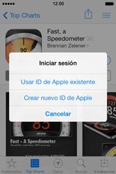 Apple iPhone 4S iOS 7 - Aplicaciones - Tienda de aplicaciones - Paso 8