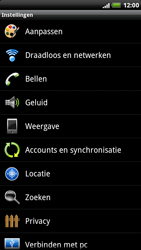 HTC X515m EVO 3D - Bellen - in het buitenland - Stap 4