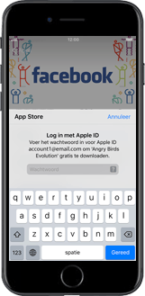 Apple iPhone X - iOS 12 - Applicaties - Account aanmaken - Stap 23