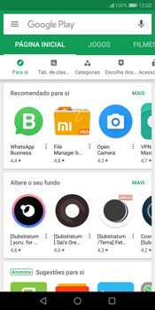 Huawei P Smart - Aplicações - Como pesquisar e instalar aplicações -  3