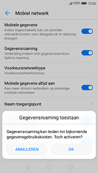Huawei P9 - Android Nougat - Internet - buitenland - Stap 7