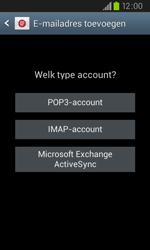 Samsung I9105P Galaxy S II Plus - E-mail - e-mail instellen: IMAP (aanbevolen) - Stap 7