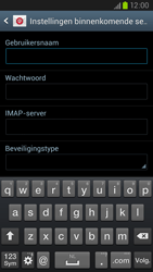 Samsung I9305 Galaxy S III LTE - E-mail - Account instellen (IMAP met SMTP-verificatie) - Stap 8