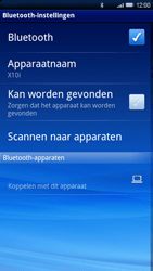Sony Ericsson Xperia X10 - Bluetooth - headset, carkit verbinding - Stap 7