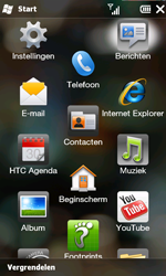 HTC T8585 HD II - MMS - hoe te versturen - Stap 2