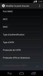 Motorola Moto G - Internet - configuration manuelle - Étape 15