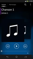 Sony Xpéria SP - Photos, vidéos, musique - Ecouter de la musique - Étape 4