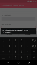 HTC Desire EYE - E-mail - Configuration manuelle - Étape 16