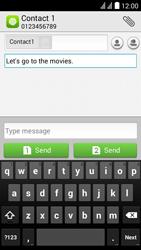 Huawei Y625 - MMS - Sending pictures - Step 9
