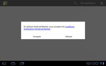 Huawei Mediapad S7-301u - Applications - Télécharger des applications - Étape 12