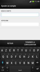 HTC One Mini - E-mail - Configuration manuelle - Étape 18