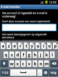 Samsung S5570 Galaxy Mini - E-mail - e-mail instellen: IMAP (aanbevolen) - Stap 18