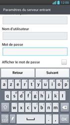 LG Optimus F5 - E-mails - Ajouter ou modifier un compte e-mail - Étape 11
