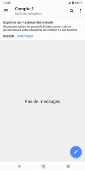 Sony Xperia XZ3 - E-mail - envoyer un e-mail - Étape 3