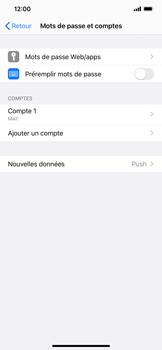 Apple iPhone XR - iOS 13 - E-mail - Configuration manuelle - Étape 25