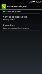 Alcatel OT-5036X Pop C5 - Messagerie vocale - Configuration manuelle - Étape 8
