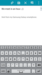 Samsung G901F Galaxy S5 4G+ - Email - Sending an email message - Step 10