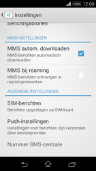 Sony D2203 Xperia E3 - MMS - probleem met ontvangen - Stap 6