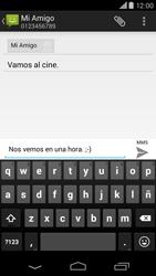 Motorola Moto X (2ª Gen) - Mensajería - Escribir y enviar un mensaje multimedia - Paso 11