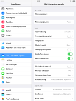Apple iPad Mini 4 - E-mail - Handmatig instellen - Stap 5