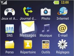 LG C320 InTouch Lady - SMS - Configuration manuelle - Étape 3