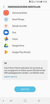 Samsung galaxy-a8-2018-sm-a530f-android-oreo - Resetten - Fabrieksinstellingen terugzetten - Stap 7