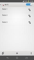 Sony C5303 Xperia SP - Wi-Fi - Como configurar uma rede wi fi - Etapa 6