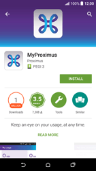HTC Desire 530 - Applications - MyProximus - Step 8