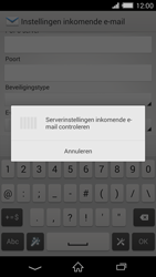 Sony D6503 Xperia Z2 - E-mail - Account instellen (POP3 met SMTP-verificatie) - Stap 11