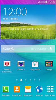 Samsung N910F Galaxy Note 4 - WiFi - Conectarse a una red WiFi - Paso 1
