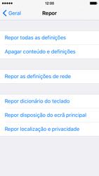 Apple iPhone 5s iOS 9 - Repor definições - Repor definições de fábrica do telemóvel -  6