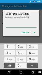 Sony Xperia Z5 Compact - Sécuriser votre mobile - Personnaliser le code PIN de votre carte SIM - Étape 9