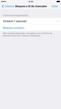 Apple iPhone 7 Plus - Chamadas - Como bloquear chamadas de um número -  7