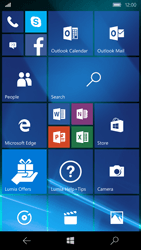 Microsoft Lumia 650 - E-mail - Manual configuration (yahoo) - Step 1