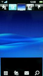 Sony Ericsson U8i Vivaz Pro - E-mail - Handmatig instellen - Stap 1