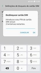 Samsung Galaxy A5 (2017) - Segurança - Como ativar o código PIN do cartão de telemóvel -  8