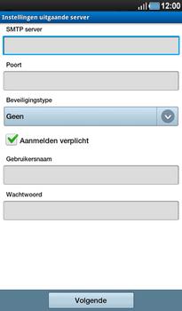 Samsung P1000 Galaxy Tab - E-mail - Instellingen KPNMail controleren - Stap 19