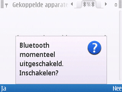 Nokia E5-00 - Bluetooth - headset, carkit verbinding - Stap 7