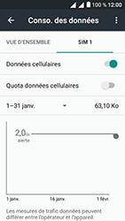 Alcatel U5 - Internet et connexion - Désactiver la connexion Internet - Étape 6
