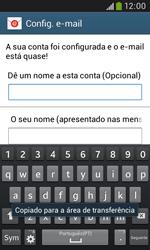 Samsung Galaxy Grand Neo - Email - Adicionar conta de email -  9