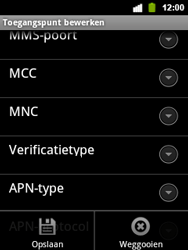 Alcatel OT-903 - Internet - Handmatig instellen - Stap 14