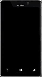 Nokia Lumia 925 - Premiers pas - Découvrir les touches principales - Étape 2