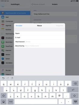 Apple ipad-pro-10-5-inch-ios-12 - E-mail - Account instellen (POP3 zonder SMTP-verificatie) - Stap 8
