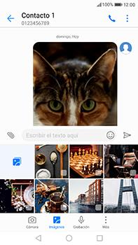 Huawei P10 Plus - Mensajería - Escribir y enviar un mensaje multimedia - Paso 18