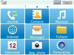 Samsung C3500 Chat 350 - SMS - Configuration manuelle - Étape 3