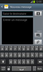 Samsung Galaxy S2 - Contact, Appels, SMS/MMS - Envoyer un SMS - Étape 5
