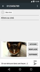 Motorola Moto E (1st Gen) (Lollipop) - Contact, Appels, SMS/MMS - Envoyer un MMS - Étape 18