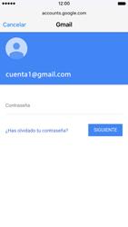 Apple iPhone 6s iOS 9 - E-mail - Configurar Gmail - Paso 7