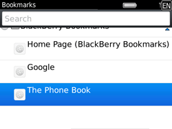 BlackBerry 9780 Bold - Internet - Internet browsing - Step 9