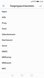 Huawei P10 - Android Oreo - Internet - handmatig instellen - Stap 11